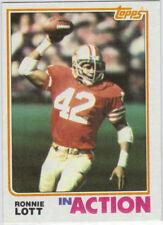 1982 TOPPS Card  #487 RONNIE LOTT  NM-MT