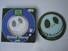 """RARE Nightmare Before Christmas 12"""" Etched Jack Mirror by Neca NEW IN BOX"""