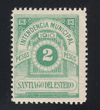 Argentina, Santiago Del Estero, Forbin 13 MLH. 1910 2p Municipal Fiscal