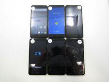 Lot of 6 Part & Repair ZTE ZMax Pro Z981 MetroPCS Check IMEI PR 6-465