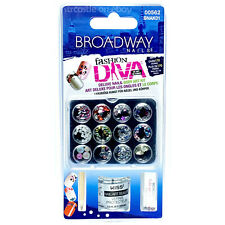 Broadway Nails Fashion Diva Deluxe Nail & Body Art Kit Over 170 Stones NEW