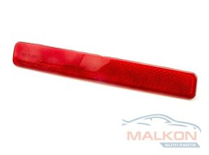 REAR LEFT BUMPER REFLECTOR RED COVER FOR VW T5 05343875