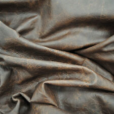 Brown Leather Hide Upholstery Whole Full Cow Hide 50 Square Feet Distressed