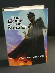 THE BOOK OF THE NEW SUN by Gene Wolfe HC includes Poster