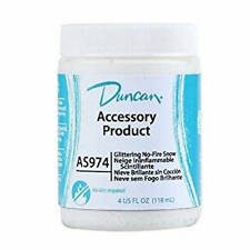 Duncan Glittering No-Fire Snow As 974 Ceramic Accessory Product Finishing Snow