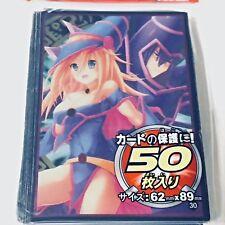 Yugioh Card Protector Dark Magician Girl 50 Sleeves #5 62x89mm