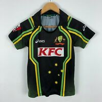 Cricket Australia Shirt Jersey Youth 10 Short Sleeve Collared