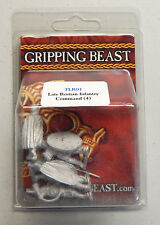 Gripping Beast SAGA Miniatures: Late Roman Infantry Command (4)