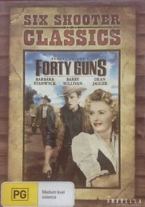 Six Shooter Classics : Forty Guns : Western DVD : Barbara Stanwyck