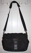 TUMI T-Tech Black Briefcase Messenger Bag