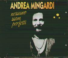 """ANDREA MINGARDI """" NESSUNO SIAM PERFETTI """" CD SIGILLATO ALPHARECORD 1995"""