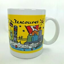 Luke-A-Tuke Vancouver Mug British Columbia Canada Attractions Colorful Cup C36