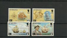 ST HELENA SG603-606-500TH ANNIV OF DISCOVERY OF AMERICA BY COLUMBUS -MNH