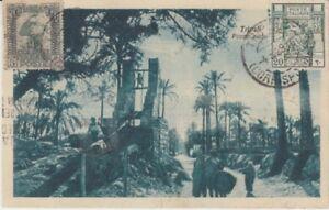 Ansichtskarte  Libyen  Tripoli  Pozzo arobo  1929