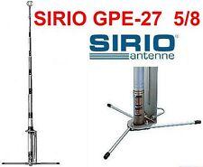 Sirio GPE-27 5/8 Antenna da Base CB 26 - 29 MHZ CON RADIALI LUNGHEZZA 5,7 mt.