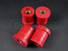 Energy Suspension Rear Subframe Bushing Set Red for 95-98 240SX