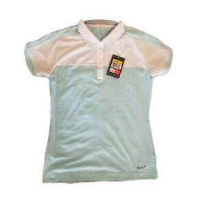Nike Polo Golf Tour Performance Women's Dri Fit  Shirt Small NEW