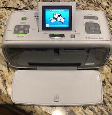 HP Photosmart A616 Digital Photo Inkjet Printer Tested Working NO POWER CORD.