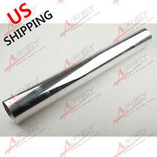 "2.5"" 63MM Straight Aluminium Turbo Intercooler Pipe Tube Tubing L=610MM US"