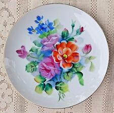 VINTAGE 1945-1952 ROSSETTI COLORFUL HAND PAINTED PORCELAIN DISH - OCCUPIED JAPAN