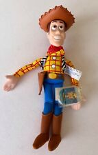 NWT Disney Pixar Plush Toy Story 2 Woody Star Bean w/ tag in  plastic tag holder
