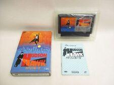 HUDSON HAWK Item REF/bcb FAMICOM Nintendo Import JAPAN Boxed Video Game fc
