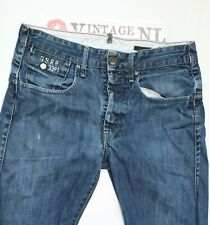 G-STAR RAW ORIGINAL HERREN JEANS Ca 30/32 STRUCTOR STRAIGHT