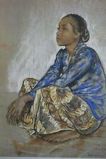 W. G. Hofker - Indonesia - Soemina - Woman from Djoejakarta - Litho