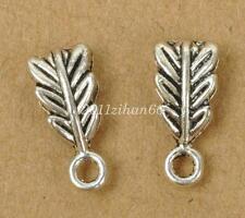 20pcs tibetan silver Connectors Bails Clasps necklace DIY Findings 14mm B3482