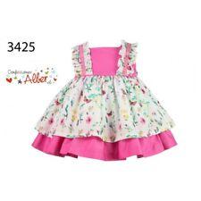 STUNNING Alber Romany Baby Girls Spanish Dress Butterflies & Flowers Ss'18 24 Months