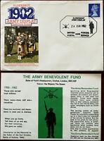 Aldershot Army Display, Rushmoor Arena 1982 FDC British Forces Postal Service