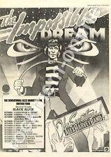 Alex Harvey Band Slack Alice Impossible Dream MM4 LP/Tour Advert 1974