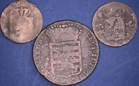 Collection of C18/19th Luxembourg & Netherlands lower grade coins *[12155]