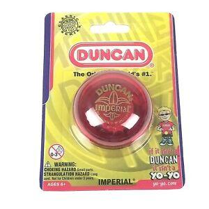 Duncan Imperial RED YoYo Original Classic Series Yo-Yo Boys Girls Toy