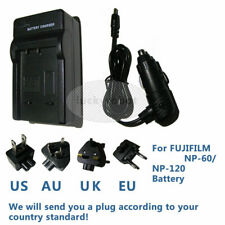 NP-120 Battery Charger for FUJI/FUJIFILM FinePix F10 F11 M603 ZOOM Camera AC/CAR