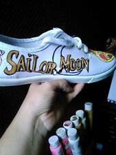 Sailor Moon Custom Hand Painted Shoes
