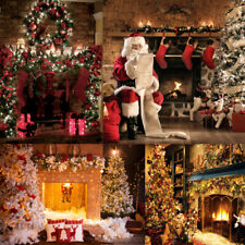 Christmas Xmas Photography Backdrop Background Studio Props for Party Decoration