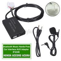 bluetooth Music Hands-Free Auto Interface AUX Adapter Per Honda Accord Civic CRV