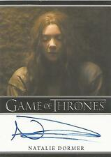 "Game of Thrones Season 6 - Natalie Dormer ""Margaery Tyrell"" Autograph Card"
