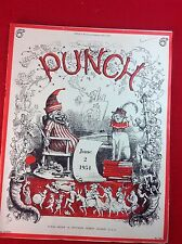 Vintage : PUNCH Magazine : 2nd June 1954