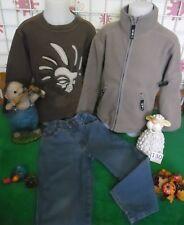 vêtements occasion garçon 4 ans,gilet polaire,pantalon,sweat