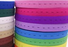 20meters 2cm  adjustable width Elastic Ribbon  Webbing Band For Sewing 20 colors