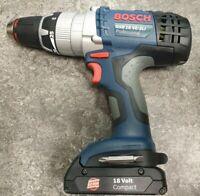 Bosch GSB 18 VE-2-LI Cordless Drill With 18V 1.3Ah Battery X3