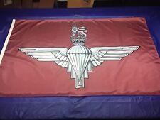 PARACHUTE REGIMENT FLAG 5' x 3' The Paras ,Support solider F