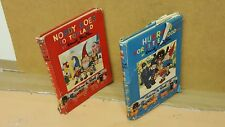 NODDY GOES TO TOYLAND & HURRAH FOR LITTLE NODDY ENID BLYTON HARDBACKS 1ST