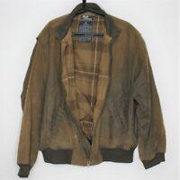VTG Polo Ralph Lauren Mens XL Oil Waxed Hunting Plaid Lined Rare Jacket N345