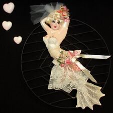 Vintage Diva Mermaid Wall Plaque - Unique One of a Kind!