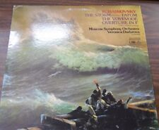 Tchaikovsky The Storm (Overture) Fatum...33RPM  092416LLE