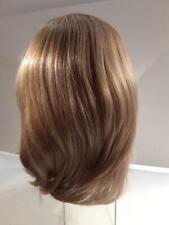 "Gorgeous dark ash blonde 3/4 fall wig human hair  15"" long"