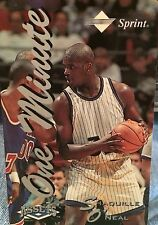 """1995 Shaquille O'Neal One Minute """"ASSETS Phone Card"""